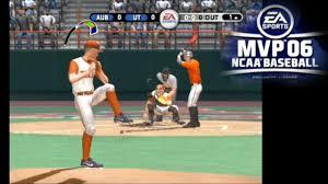 mvp 06 ncaa baseball ps2 youtube