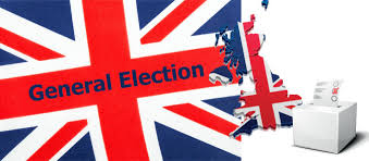 electoral maps for the british general elections 2017