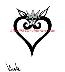 tribal heart tattoo by kika1983 on deviantart