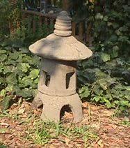 mini japanese lantern concrete statues japanese and gardens