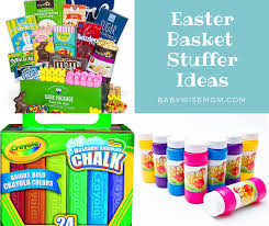 cheap easter basket stuffers easter basket stuffer ideas chronicles of a babywise