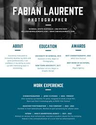 Best Resume Headers by Blue Sapphire Header Creative Resume Templates By Canva