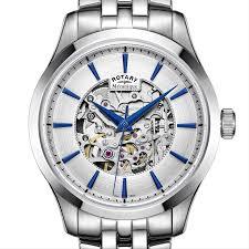 steel bracelet watches images Mecanique skeleton stainless steel bracelet watch gb05032 06 jpg