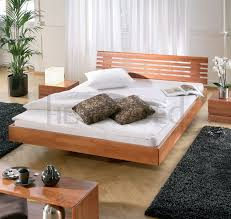 Solid Wood Beds Hasena Woodline Vilo Litto Designer Solid Wooden - Beechwood bedroom furniture