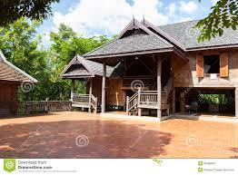 Wooden House Plans Thai House Designs Plans House Plans