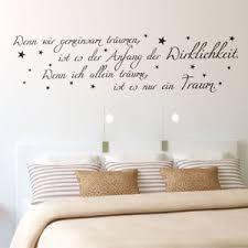 schlafzimmer spr che wenn wir gemeinsam träumen wandtattoo traum sterne schlafzimmer
