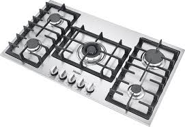 Hybrid Gas Induction Cooktop Kitchen The Most Contemporary Gas Cooktops Elleci For White
