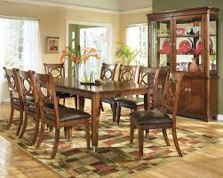 appealing classic style dining room design ideas with brown wall