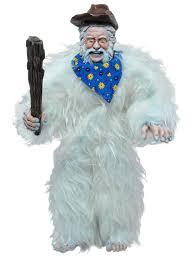 Yeti Halloween Costume Presidential Monsters Series 3 Yeti Roosevelt Presidential Monsters