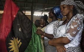 Biafra Flag Southeast Shutdown For 50th Anniversary Of Biafra Declaration