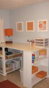 Scrapbooking Tables Desks 37 Best Garage Craft Room Images On Pinterest Closet Laundry
