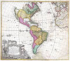 North And South America Map by File 1746 Homann Heirs Map Of South North America Geographicus