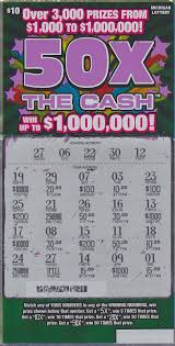 Lottery Instant Wins - livonia man wins 1 million playing 50x the cash instant game