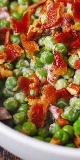 crunchy pea bacon pecan salad thanksgiving