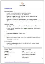 Science Resume Template Best 25 Resume Format For Freshers Ideas On Pinterest Format
