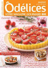 magazine cuisine gratuit magazine odelices n 12 eté 2013 magazines and newspaper