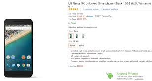 black friday deal amazon lightning deal alert 32gb nexus 6 199 99 64gb 259 99 on amazon