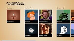 Meme Generator Fry - creating memes is a breeze with meme generator for windows 8