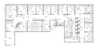plan des bureaux girafe santé aménagement commercial couzin design