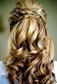 Hochsteckfrisurenen Geflochten Halboffen by 17 Best Images About Brautfrisuren On Curls Wedding