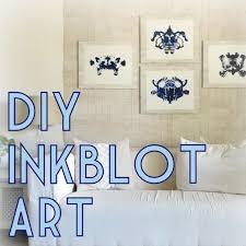 diy decor tutorial rorschach inkblot wall art u2013 the decor guru