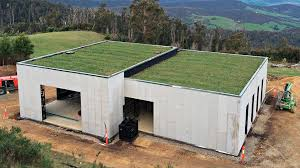 green roof bush fire proof house joost bakker house