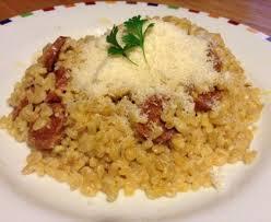 comment cuisiner le blé blé au chorizo façon risotto recette de blé au chorizo façon
