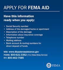 How To Register With Fema For Disaster Assistance Fema Gov