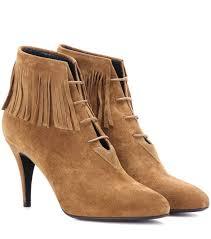 Brown Fringe Ankle Boots 3610 Best Boho Love Fringe Shoes Heels Sandals Or Boots