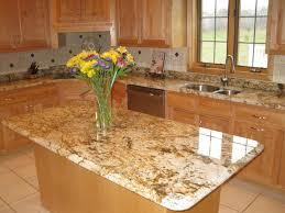 kitchen with island done in geriba granite