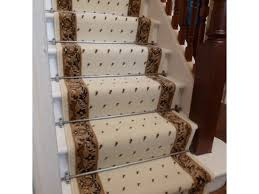 decor elegant carpet runners for your stairs decor idea