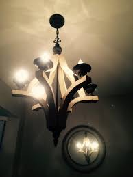 ab home interiors wood and metal chandelier u003e 199 99 vintage style six lights
