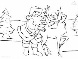 pics rudolph red nosed reindeer kids coloring