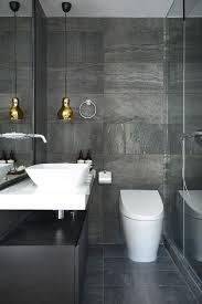 Modern Gray Tile Bathroom Gray Tile Bathroom At Modern Black Bathrooms Grey White