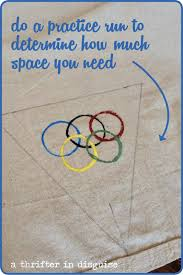 How Many Rings In Olympic Flag A Thrifter In Disguise Diy Rustic Olympic Banner