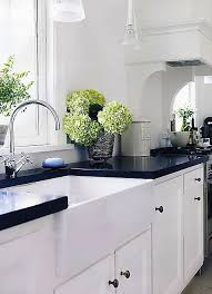 Kitchen Countertops White Cabinets Best 25 Black Counters Ideas On Pinterest Dark Countertops