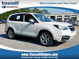 subaru forester 2018 review featured new subaru inventory in ga at troncalli subaru