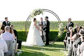 wedding arches san diego circle arch 2 0 wedding party rentals and sales in san diego ca