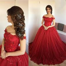engagement dresses lace embroidery sweetheart tulle gowns prom dresses 2017
