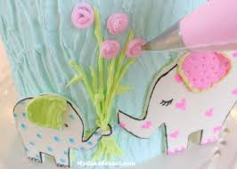 love you bunches elephant cake tutorial my cake