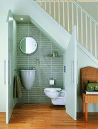 bathroom alcove ideas squeeze in a neat cloakroom hallway the stairs toilet