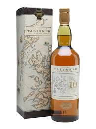 Scotch Whisky Map Talisker 10 Year Old Map Label Scotch Whisky The Whisky Exchange
