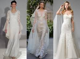 Bridle Dress Top Wedding Dress Trends From Spring 2017 Bridal Fashion Week Watch