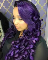 black hairstyles purple pin by tyra mizelle on hair with without color pinterest bald