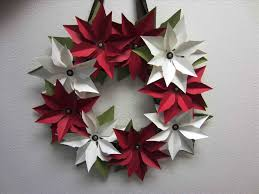 christmas decorations to make out of paper ne wall