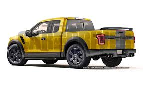 Ford F 150 Yellow Truck - 2016 ford f 150 street performance truck artist u0027s rendering