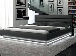 Contemporary Platform Bed Modern Bed Platform Contemporary Black Leather Platform Bed With