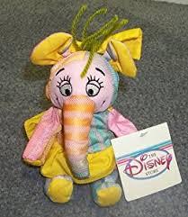 amazon disney winnie pooh heffalump elephant 4 8 u201d plush
