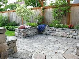 Paved Backyard Ideas Backyard Design With Pavers Airdreaminteriors