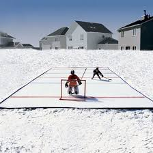 Backyard Ice Skating by Ice N U0027 Go Portable Backyard Ice Skating Rink The Green Head